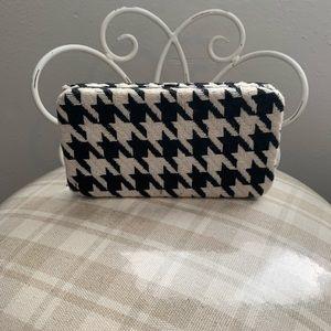 Handbags - HOUNDSTOOTH print wallet/clutch | | brand unknown